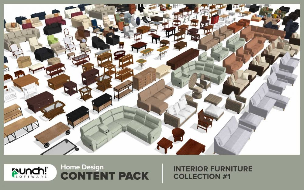 Home Design Content Pack Interior Furniture Collection 1 Download Windows