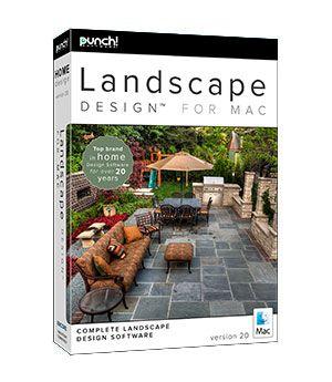 Punch Landscape Design For Mac V20 Dvd In Sleeve Macintosh