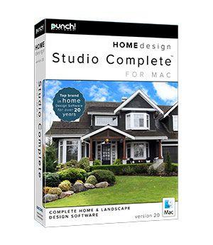 Punch Home Design Studio Complete For Mac V20 Upgrade From Home Design Studio Complete Or Pro Any Version