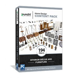 Home Design Content Pack- Interior Décor and Furniture - Download Windows