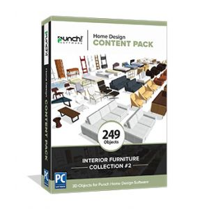 Home Design Content Pack- Interior Furniture Collection # 2 - Download Windows
