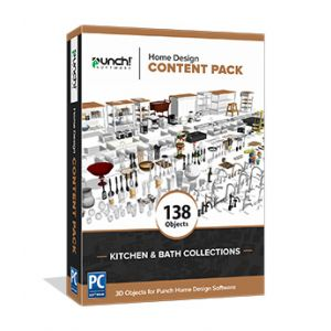 Home Design Content Pack- Kitchen & Bath Collections - Download Windows