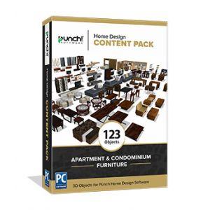 Home Design Content Pack -Apartment and Condominium Furniture - Download Windows
