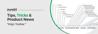 """Tips, Tricks & Product News Punch Software's """"Align Toolbar explained"""