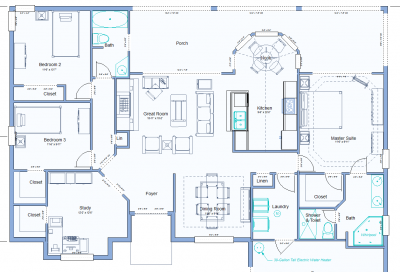 Design Walkthroughs - Common Room Sizes and Square Footage
