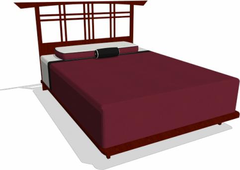 Sketchup bed