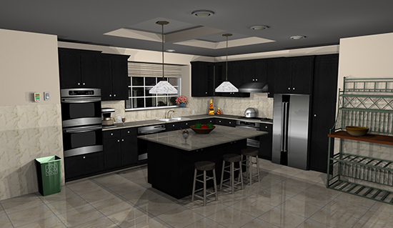 Punch software kitchen design