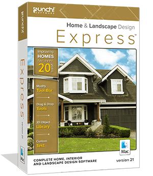 Punch! Home & Landscape Design Express v21